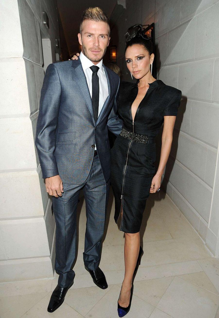 David et Victoria Beckham en 2009