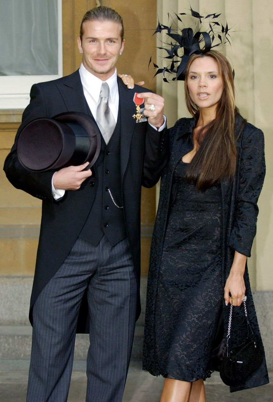David et Victoria Beckham en 2003