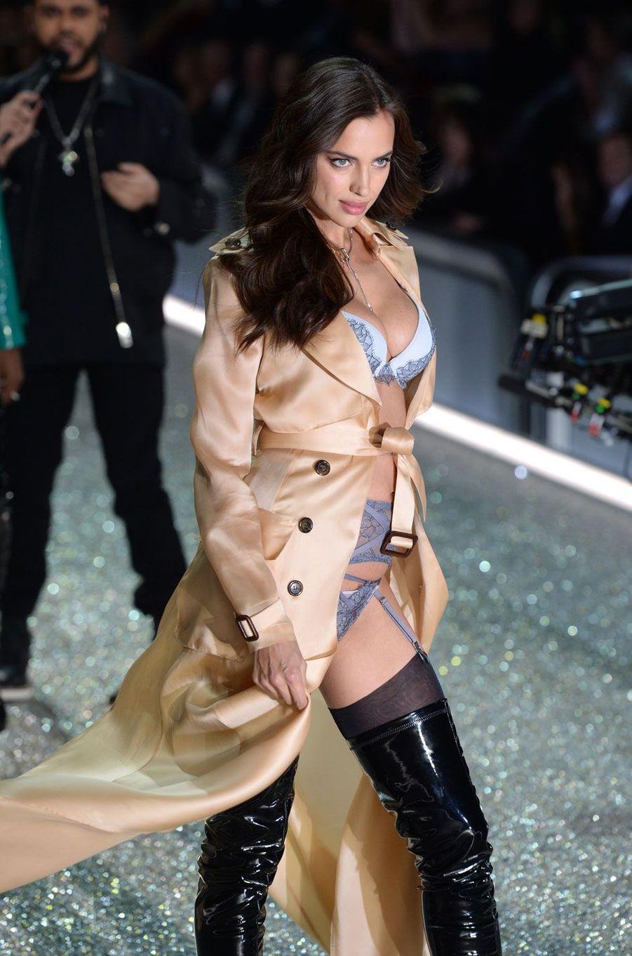 Irina Shayk était enceinte pour l'édition 2016 du show Victoria's Secret