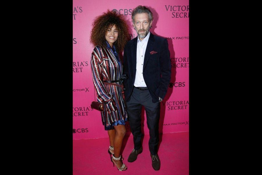 Vincent Cassel et sa compagne, Tina Kunakey