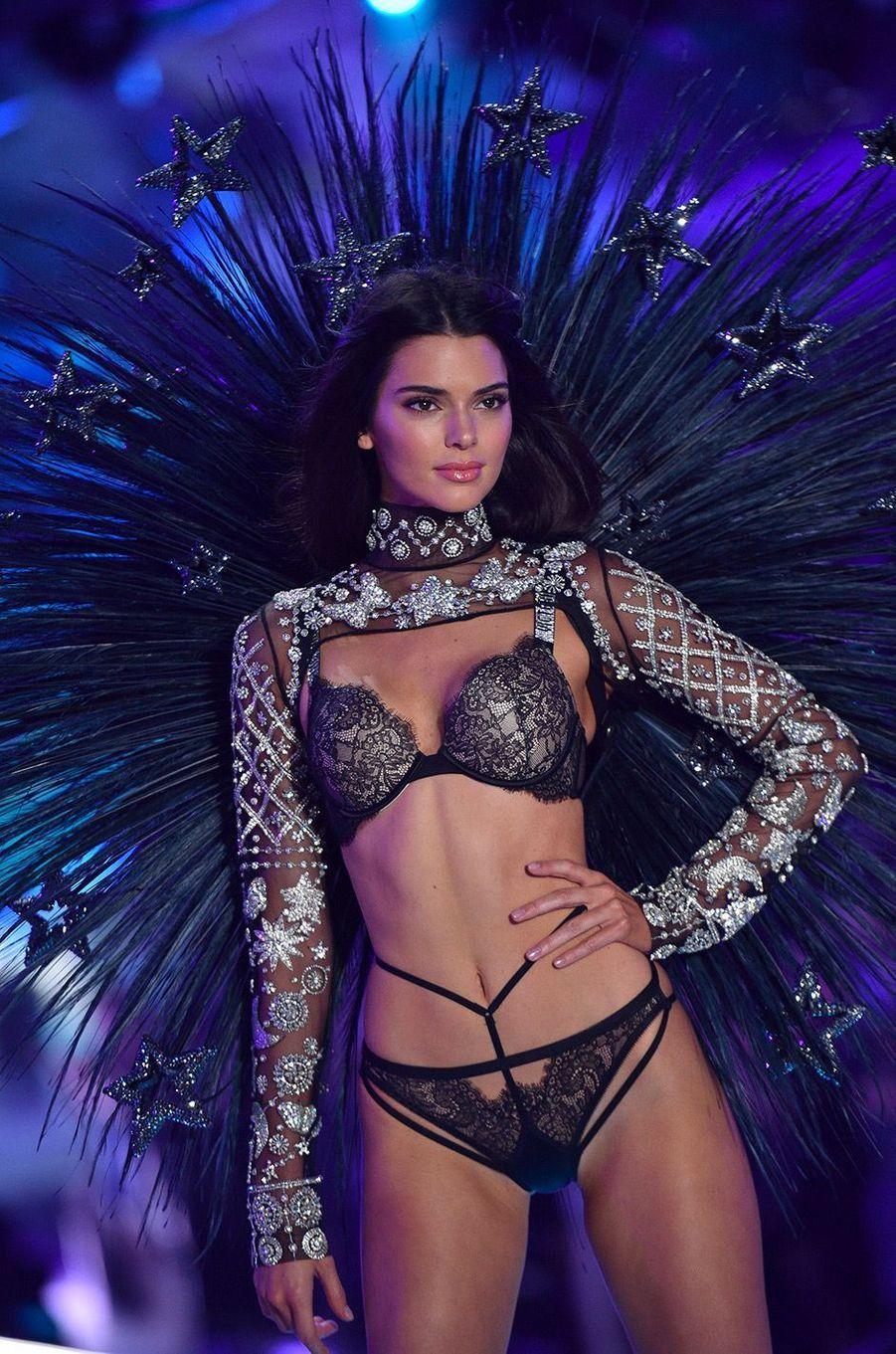Kendall Jenner audéfilé Victoria's Secret 2018, à New York