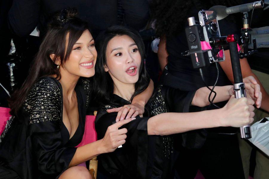 Bella Hadid et Ming Xi