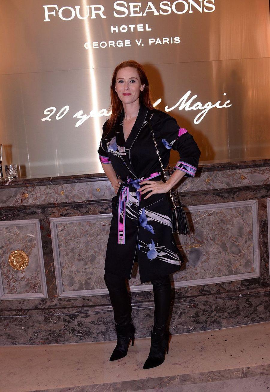 Audrey Fleurotau Four Seasons Hotel George V à Paris le 7 décembre 2019