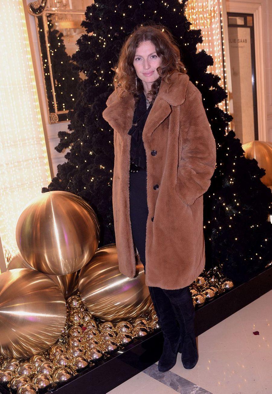 Aurélie Saadaau Four Seasons Hotel George V à Paris le 7 décembre 2019