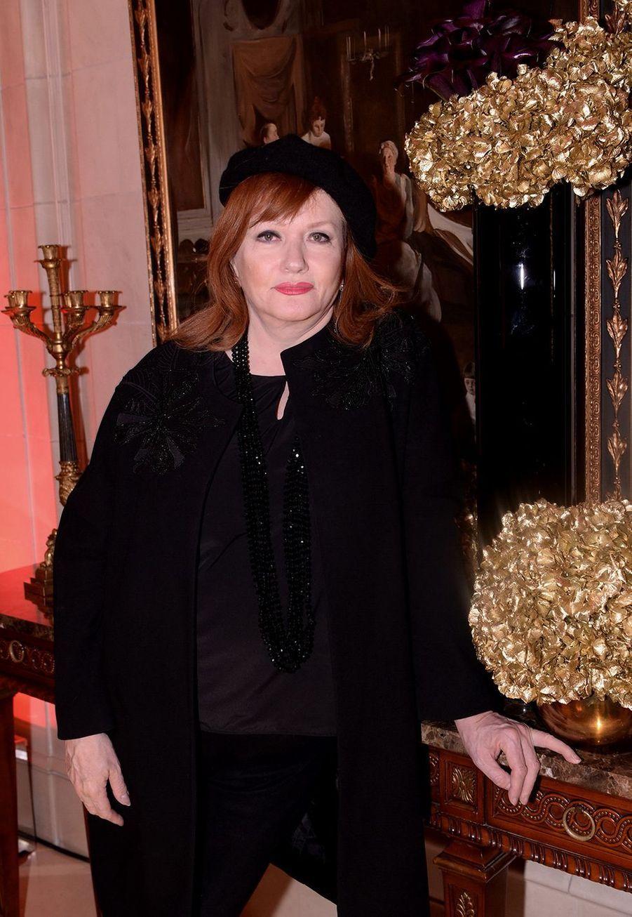 Catherine Jacobau Four Seasons Hotel George V à Paris le 7 décembre 2019
