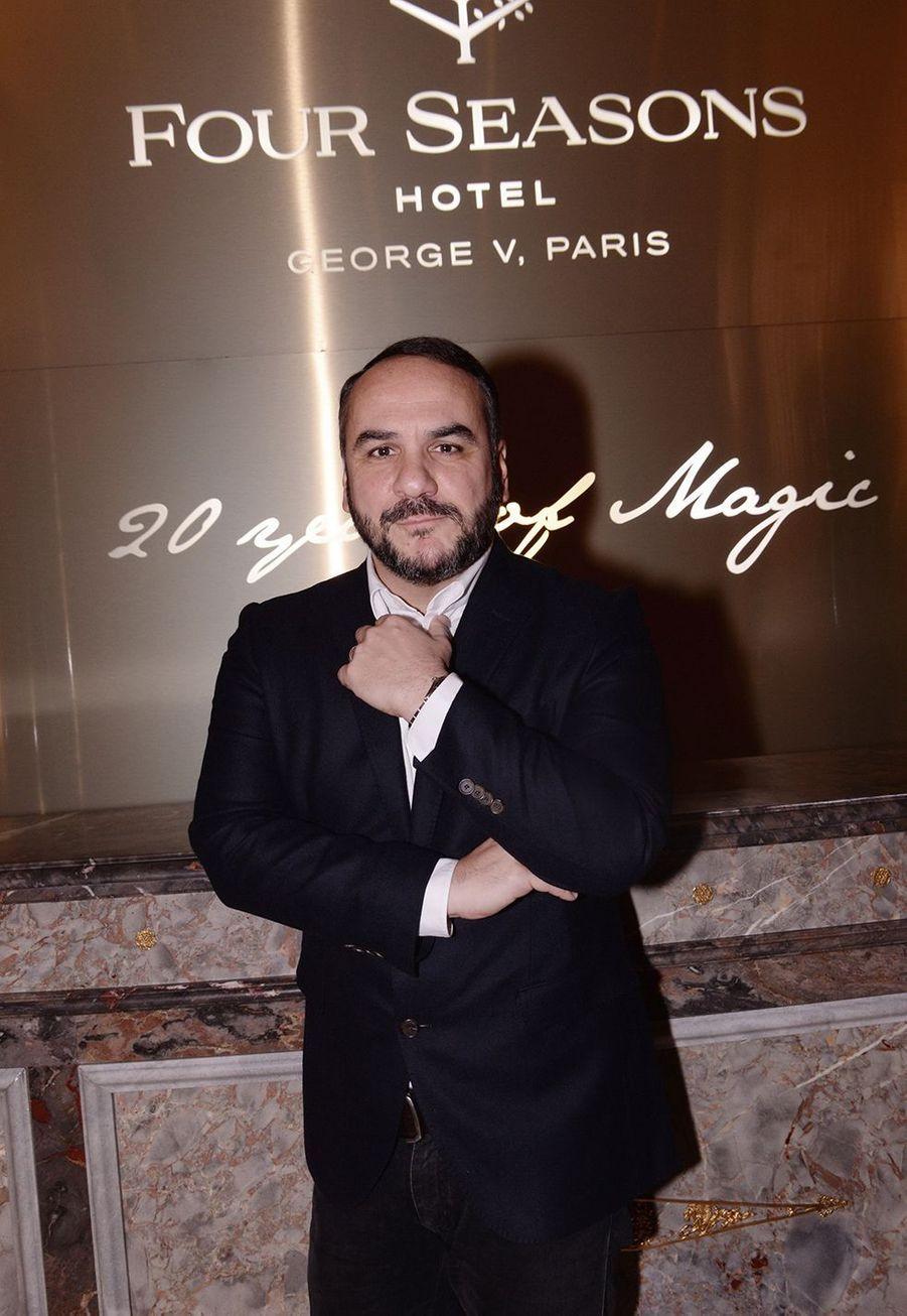 François-Xavier Demaisonau Four Seasons Hotel George V à Paris le 7 décembre 2019