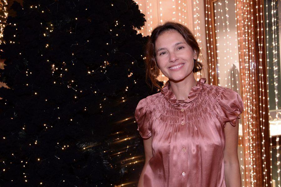 Virginie Ledoyenau Four Seasons Hotel George V à Paris le 7 décembre 2019