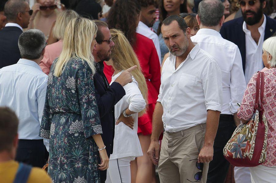 Gilles Lellouche mariage de Vincent Cassel et Tina Kunakey, vendredi 24 août