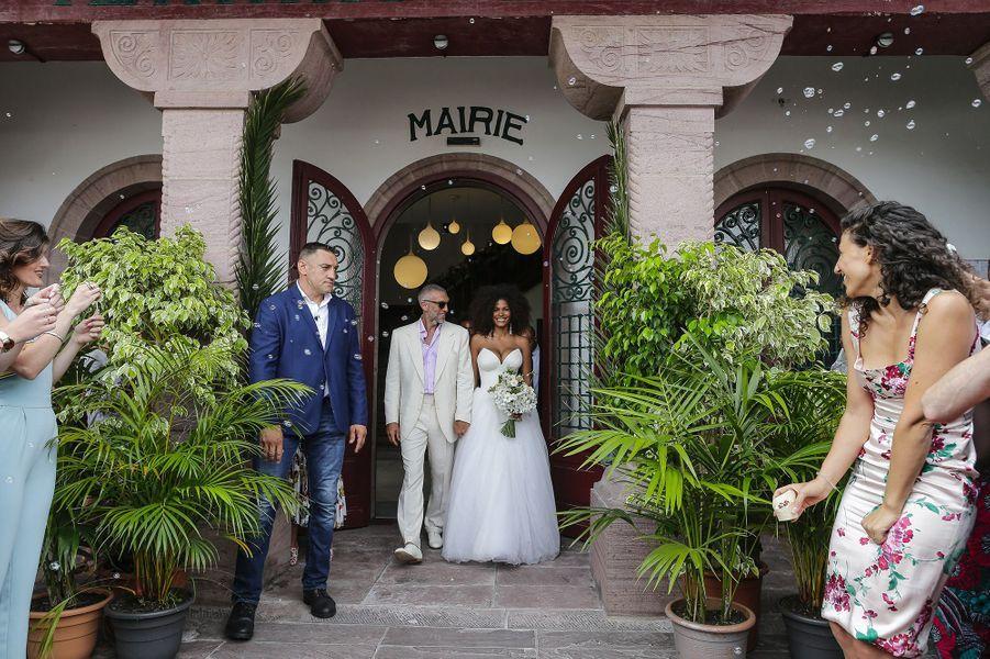 Vincent Cassel et Tina Kunakey se sont mariés, vendredi 24 août