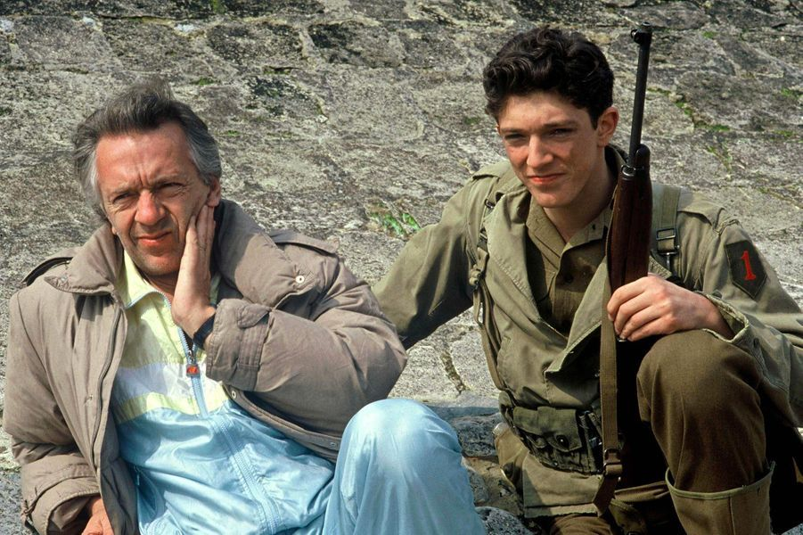 Vincent Cassel, avec son père Jean-Pierre, en 1986