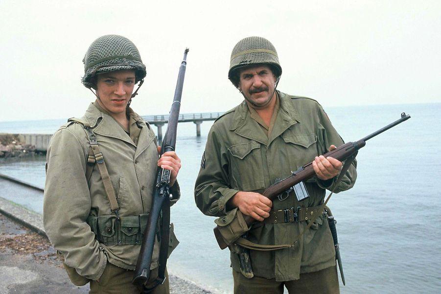 Vincent Cassel, avec Mort Shuman, en 1986