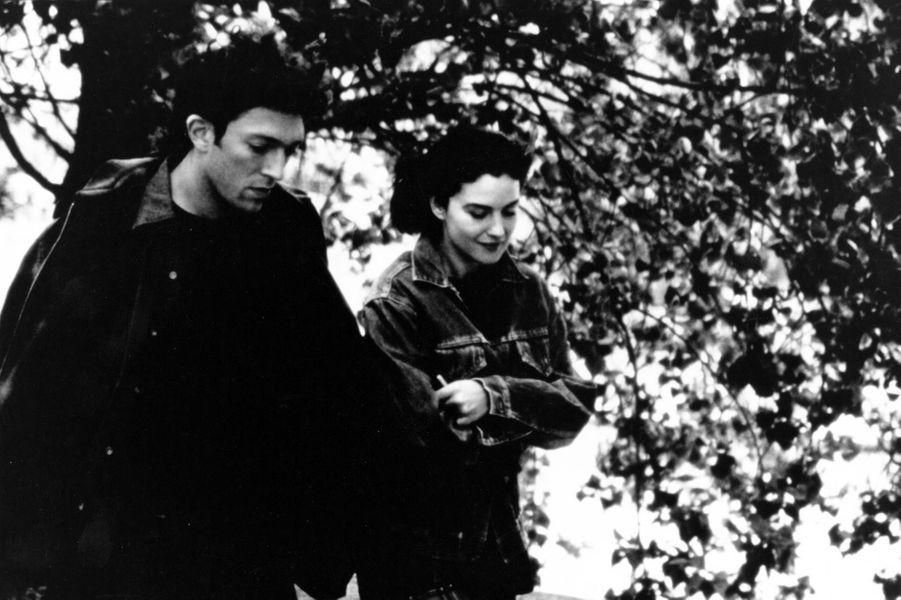Vincent Cassel et Monica Belluci en 1996