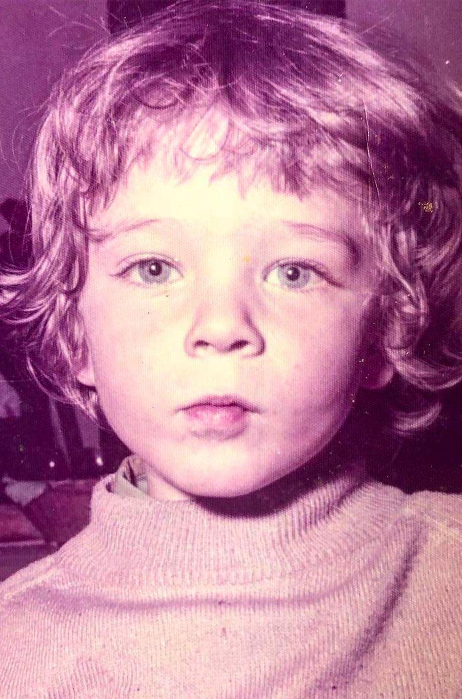 Vincent Cassel quand il était enfant