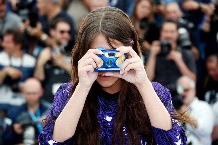 Adèle Exarchopoulos au Festival de Cannes le 25 mai.