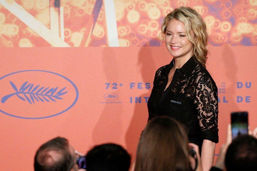 Virginie Efira au Festival de Cannes le 25 mai.