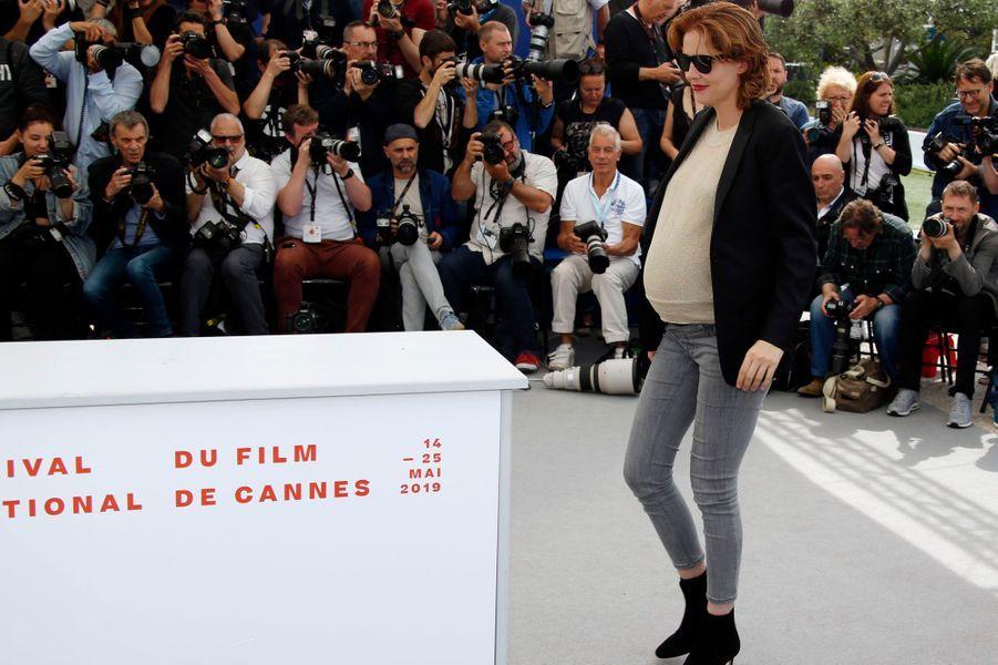 Justine Triet au Festival de Cannes le 25 mai.