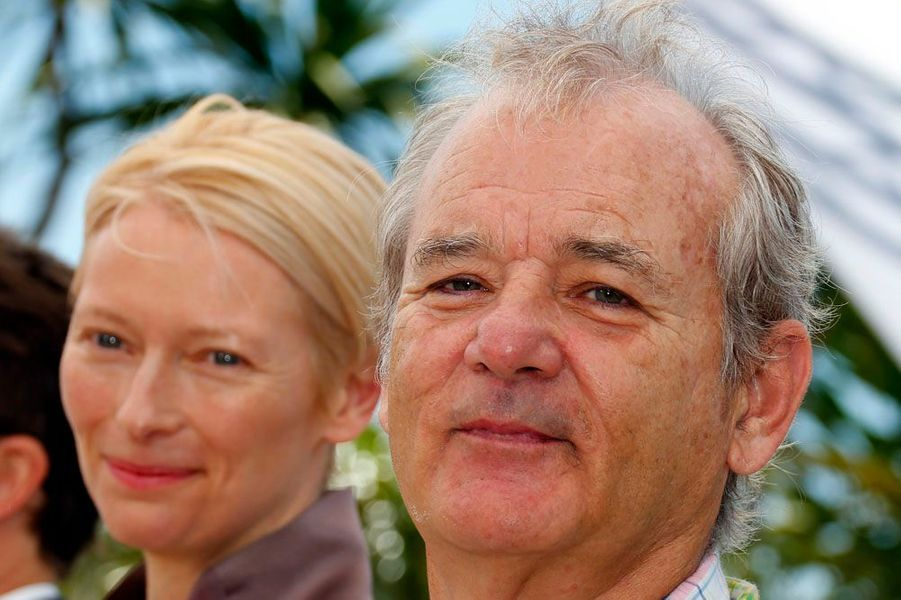 Tilda Swinton et Bill Murray.