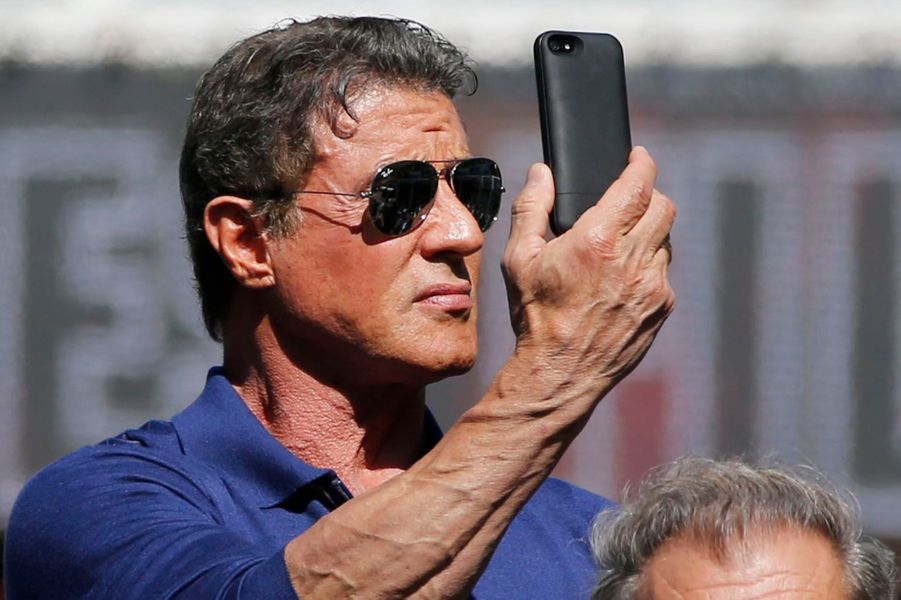 Sylvester Stallone pour «Rambo : First Blood».