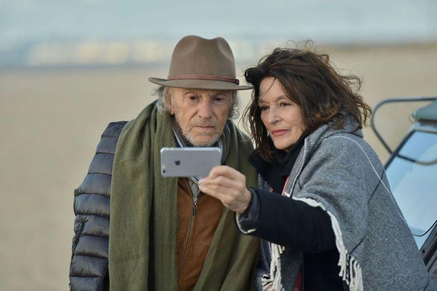 Jean-Louis Trintignant et Anouk Aimé dans «Les plus belles années» de Claude Lelouch.