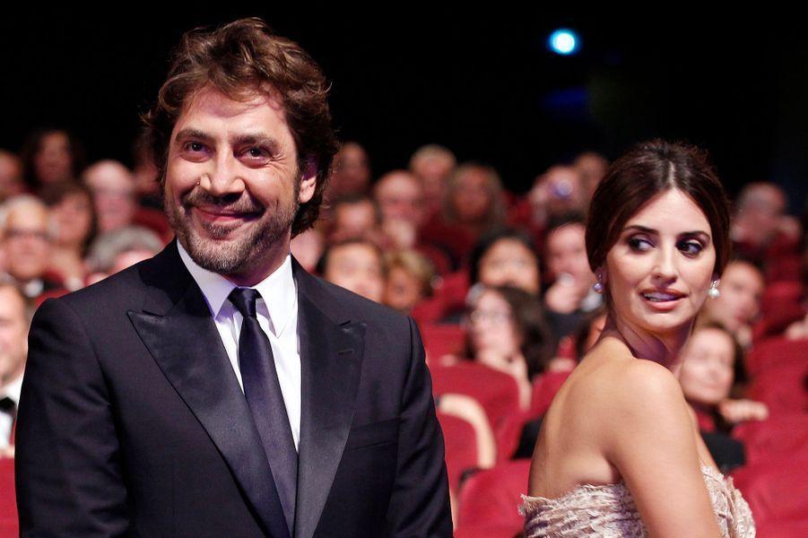 Javier Bardem et Penélope Cruz à Cannes