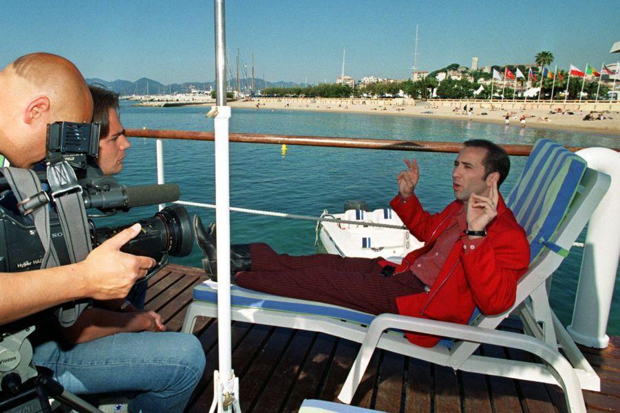 Nicolas Cage à Cannes