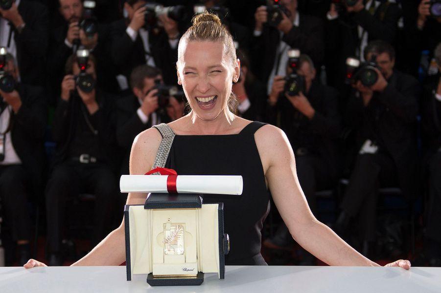 Emmanuelle Bercot à Cannes