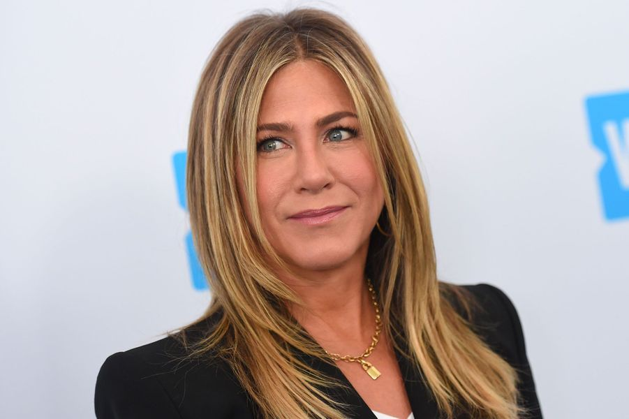 Jennifer Aniston à la soirée WE Day California le 19 avril 2018
