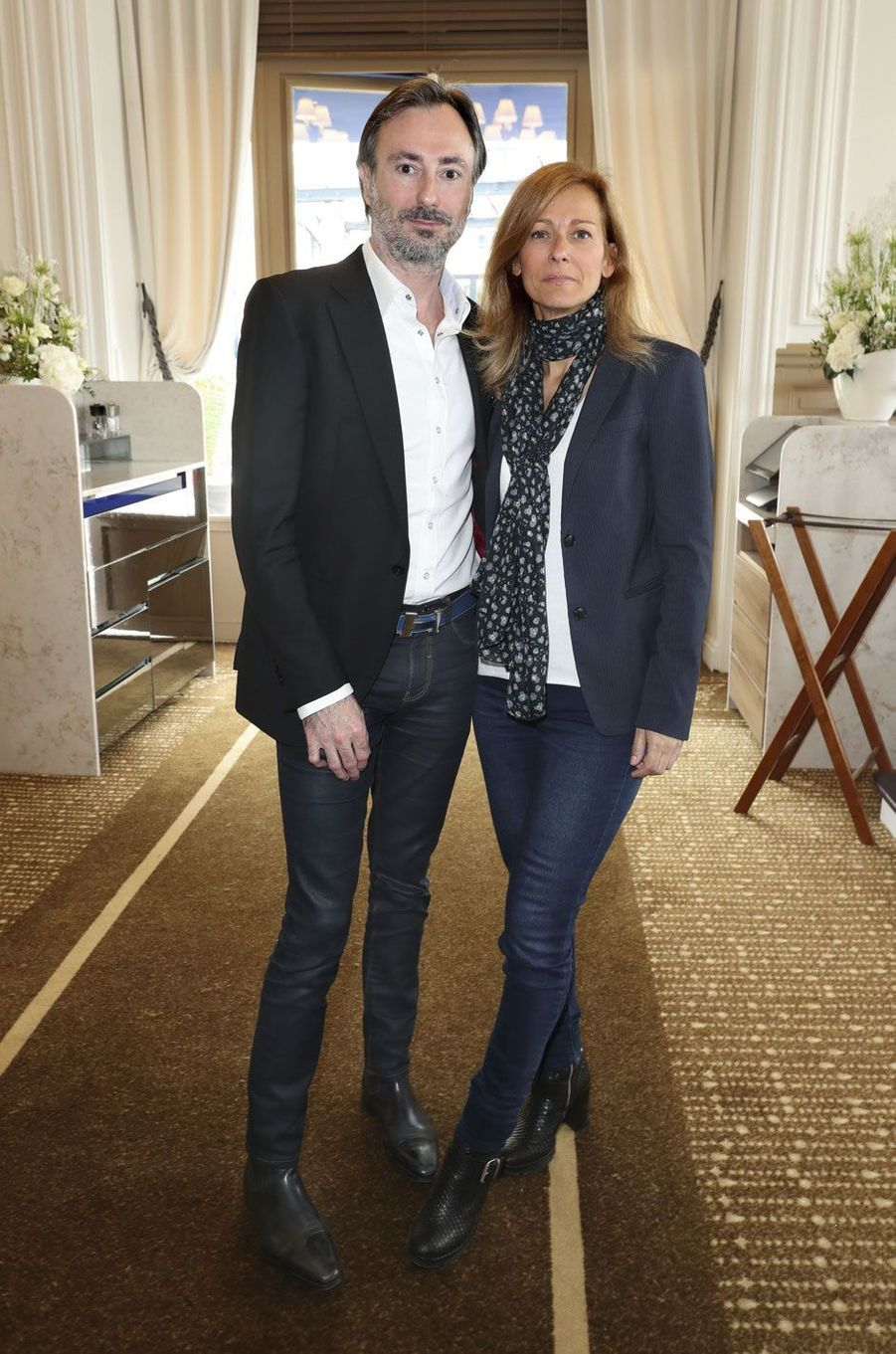 Nicolas Guiraud et Anne Gravoin.