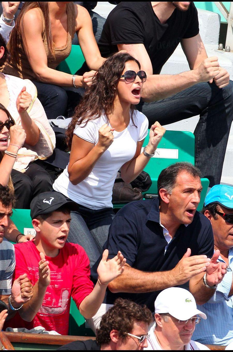 Xisca Perello à Roland Garros en juin 2011