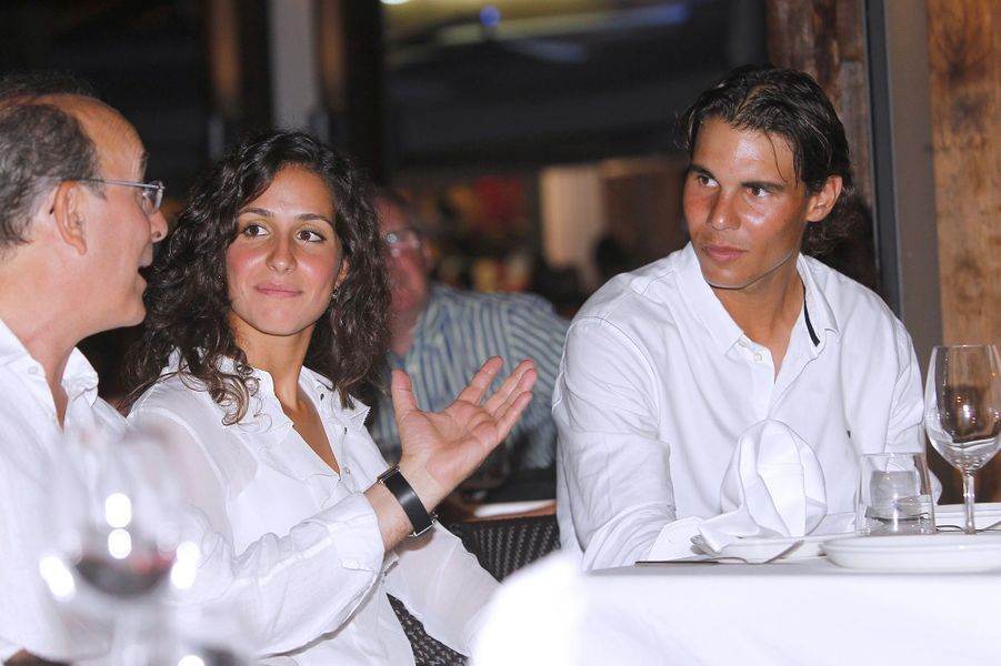 Xisca Perello et Rafael Nadal en août 2012