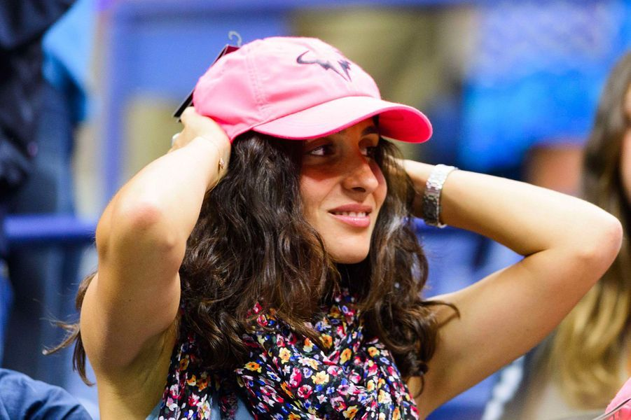 Xisca Perello à l'US Open à New York en août 2017