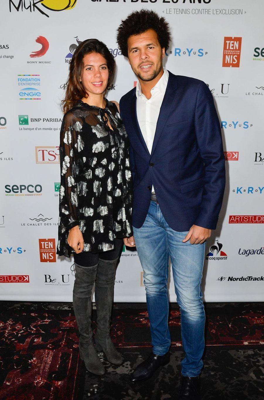 Jo-Wilfried Tsonga et sa compagne Noura, enceinte