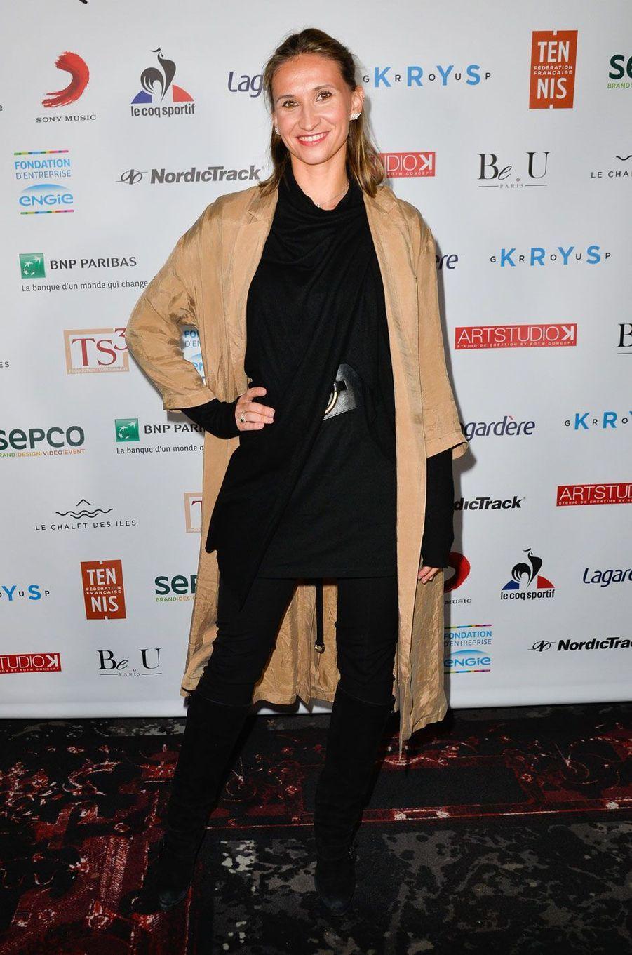 "Tatiana Golovin, marraine de l'association ""Fête le Mur"""