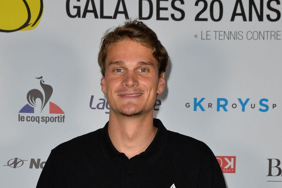 """Yannick Agnel à la soirée de gala des 20 ans de l'association """"Fête le Mur"""""""