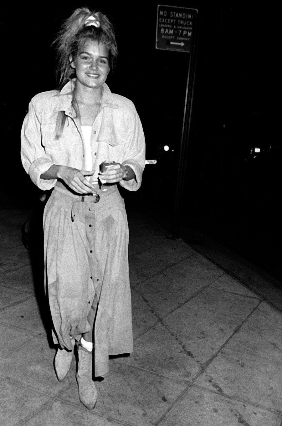 Yolanda Hadid en 1986