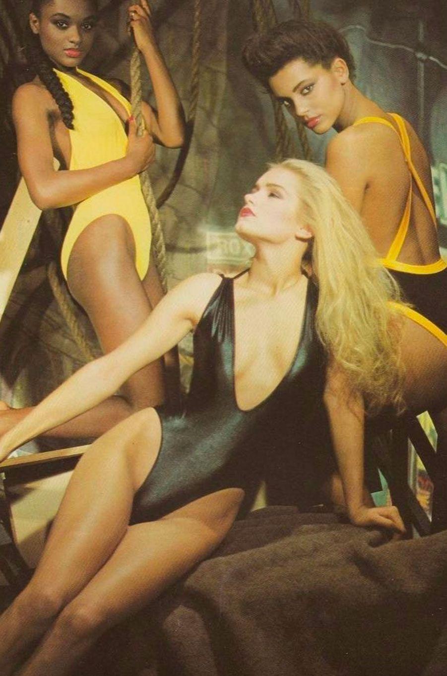 Yolanda Hadid dans les années 80