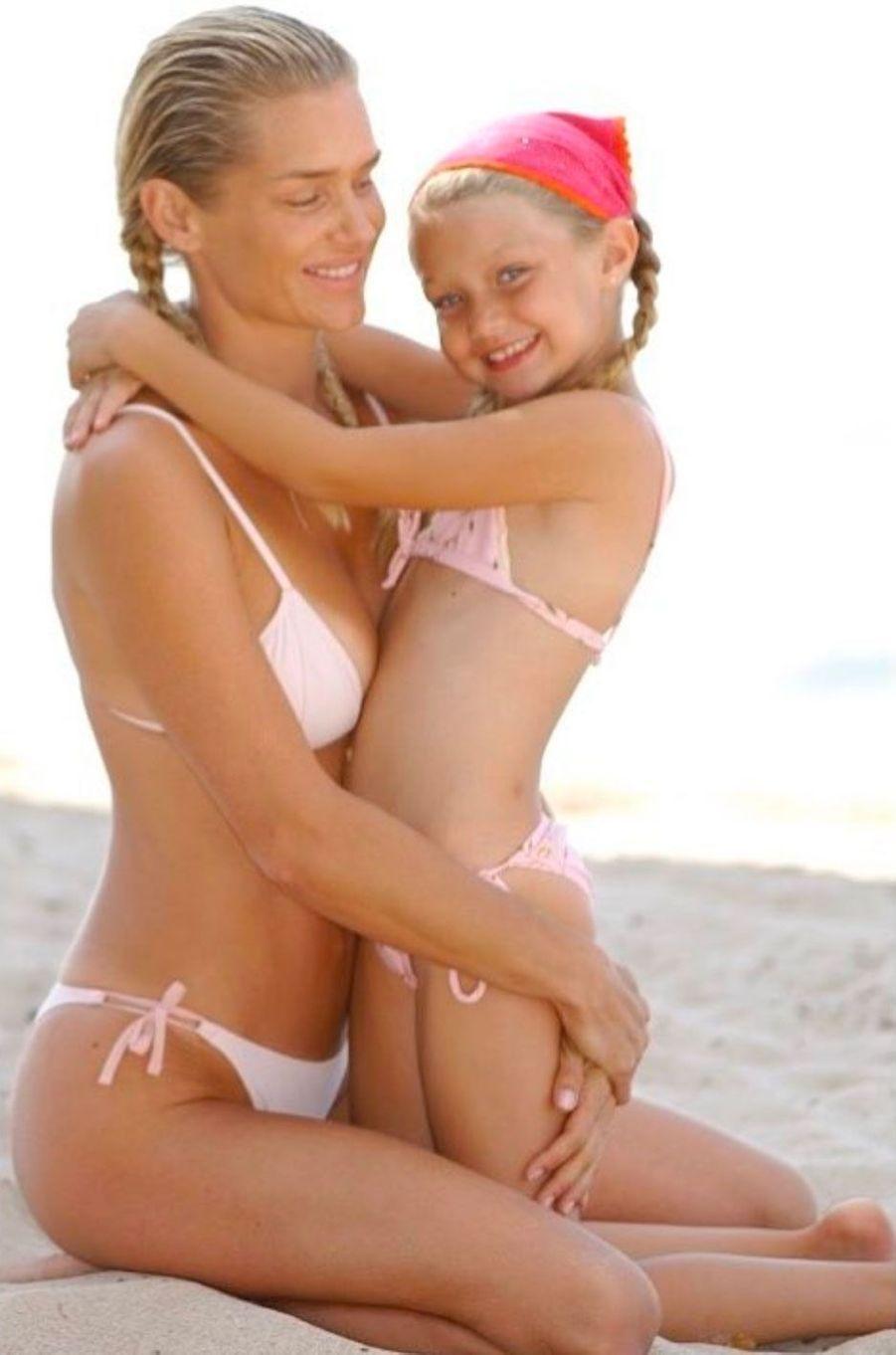 Yolanda et Gigi Hadid
