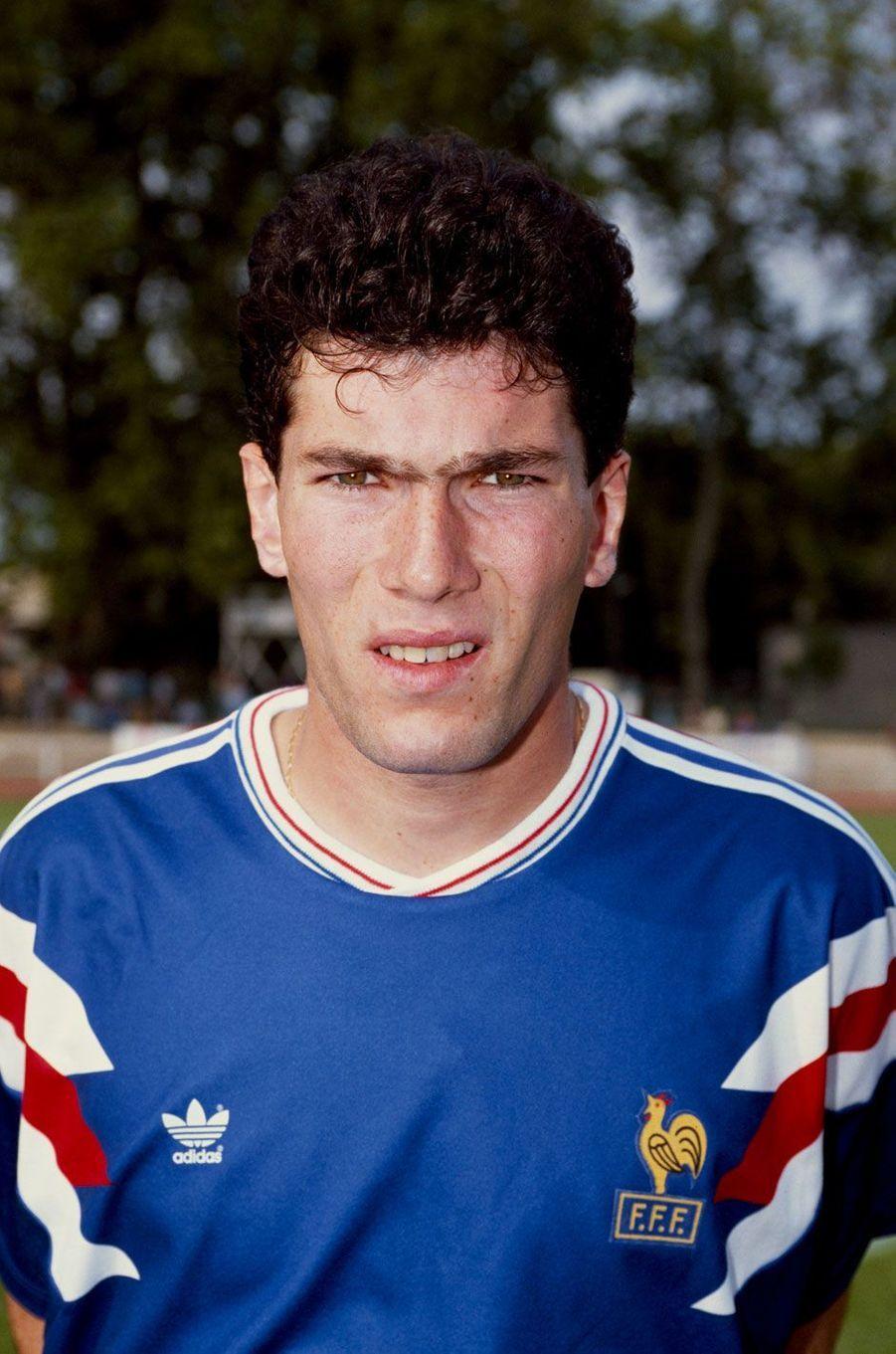 Zinédine Zidane en 1991