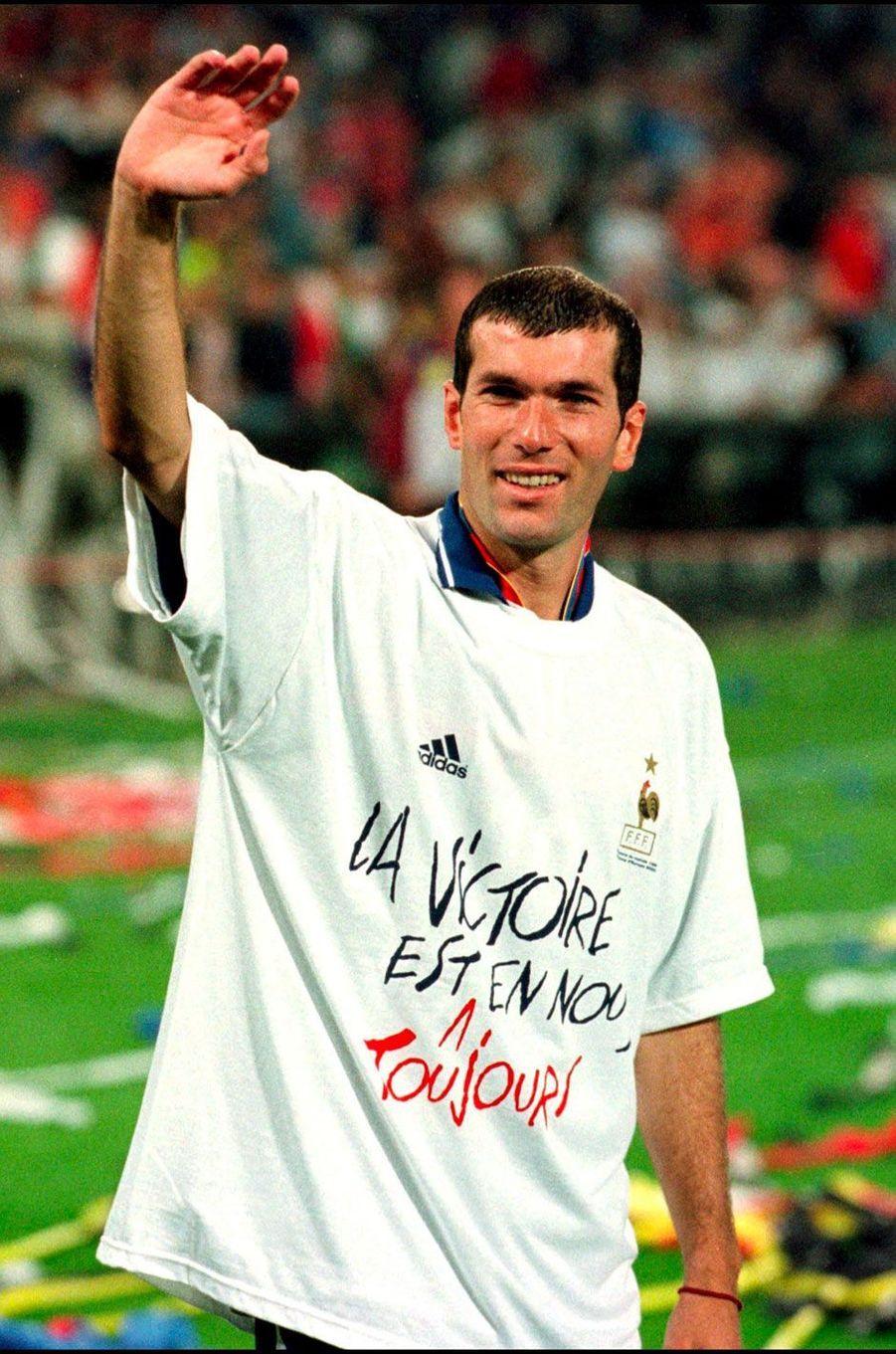 Zinédine Zidane en 2000