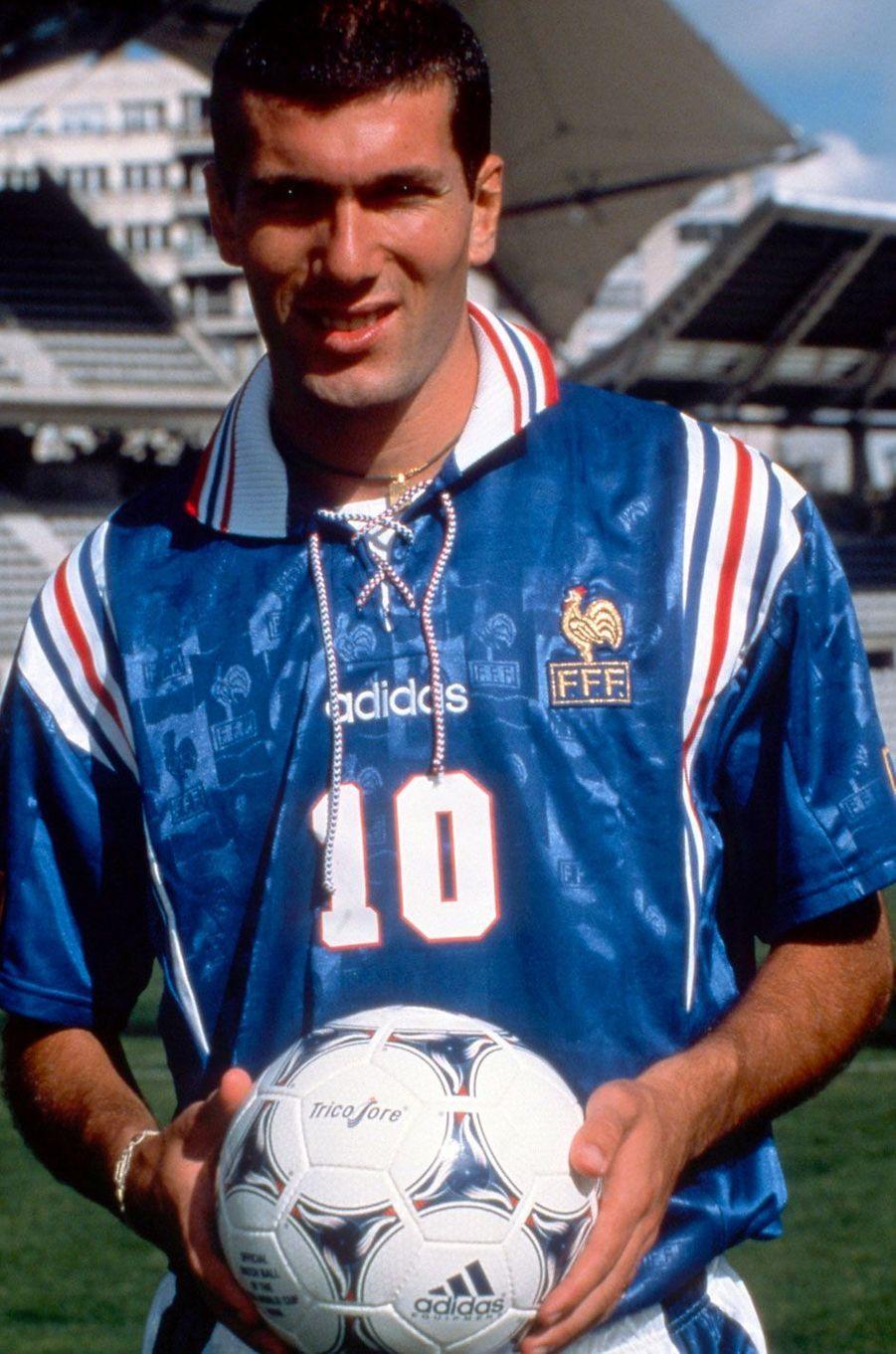 Zinédine Zidane en 1997