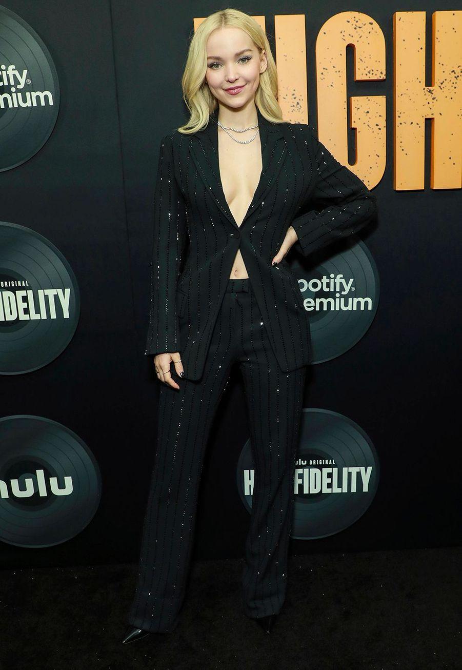 """Dove Cameronlors dela première de""""High Fidelity"""" à New York le 13 février 2020."""