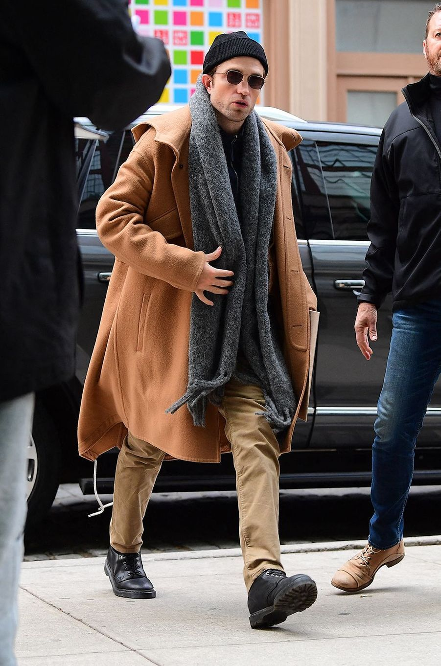 Robert Pattinson à New York le 19 novembre 2019