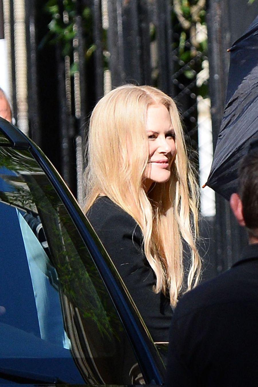 Nicole Kidmanse rendau mariage de Zoë Kravitz et Karl Glusman organisé à l'hôtel particulier de Lenny Kravitz à Paris le 29 juin 2019