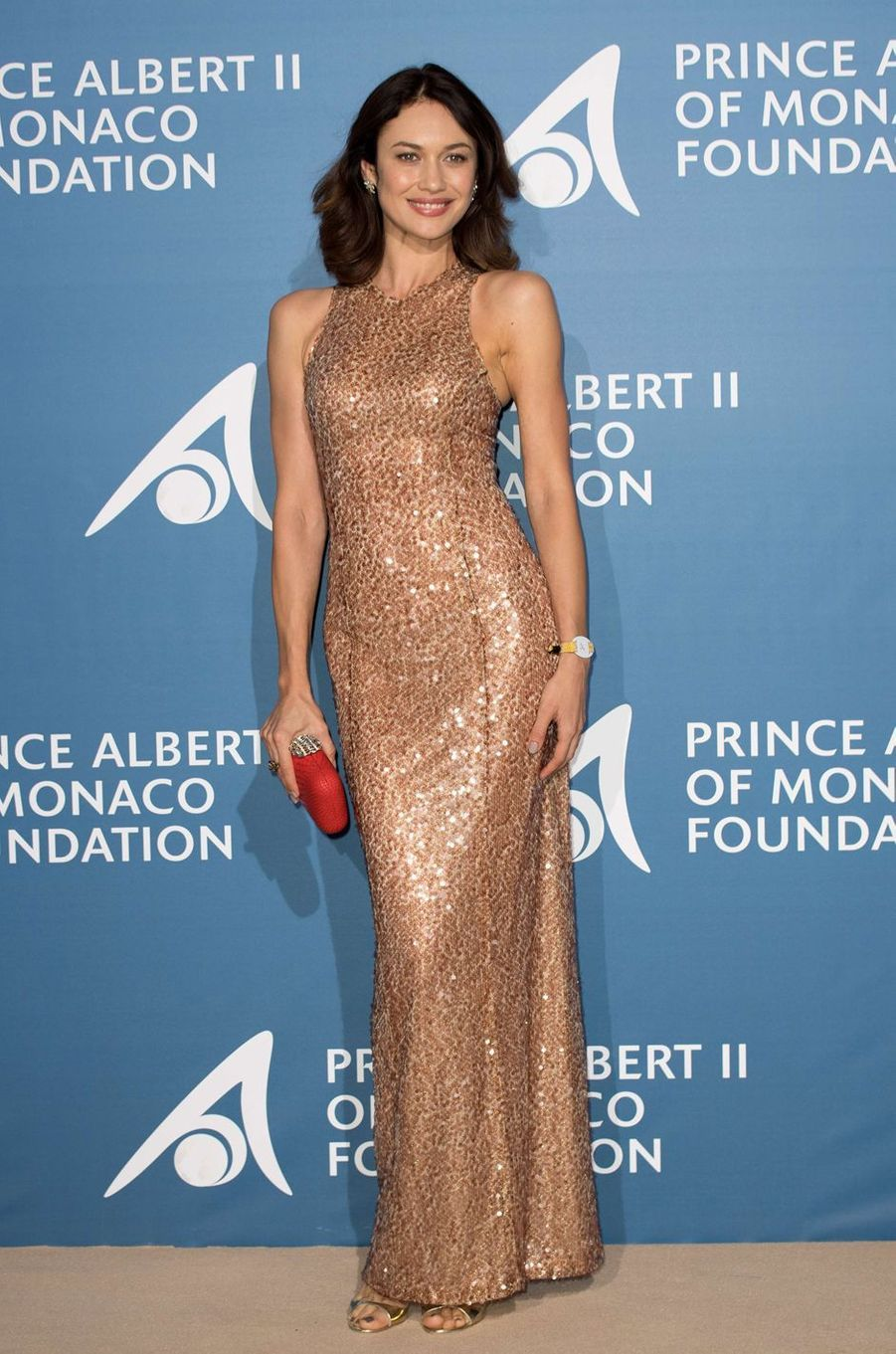 Olga Kurylenko au Monte-Carlo Gala pour l'Océan à Monaco, le 28 septembre 2017