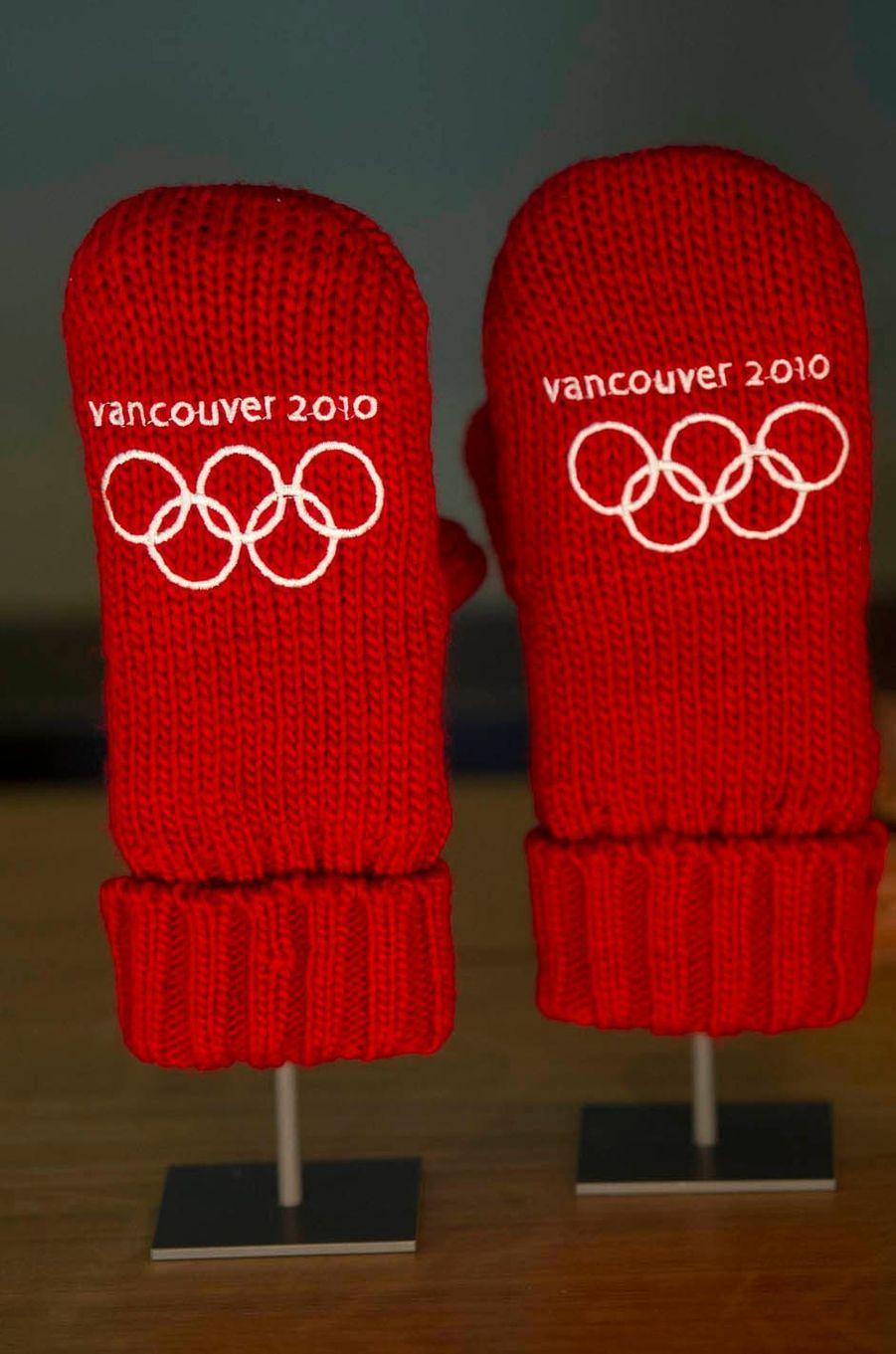 Gants des JO d'hiver de Vancouver