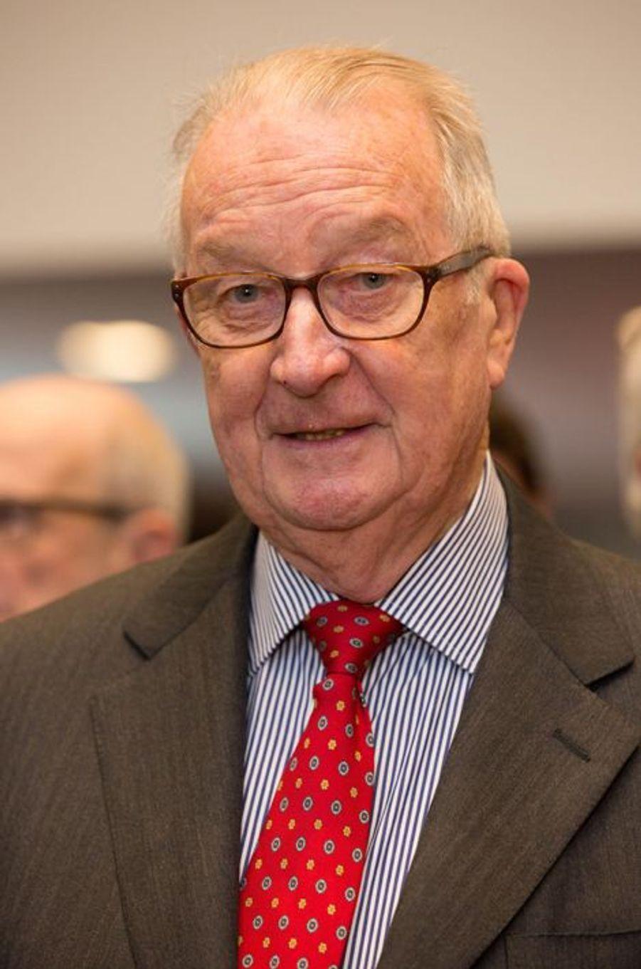 L'ex-roi des Belges Albert II à Bruxelles, le 2 avril 2015