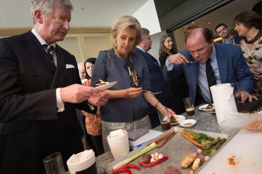 La princesse Astrid de Belgique à Jakarta, le 14 mars 2016