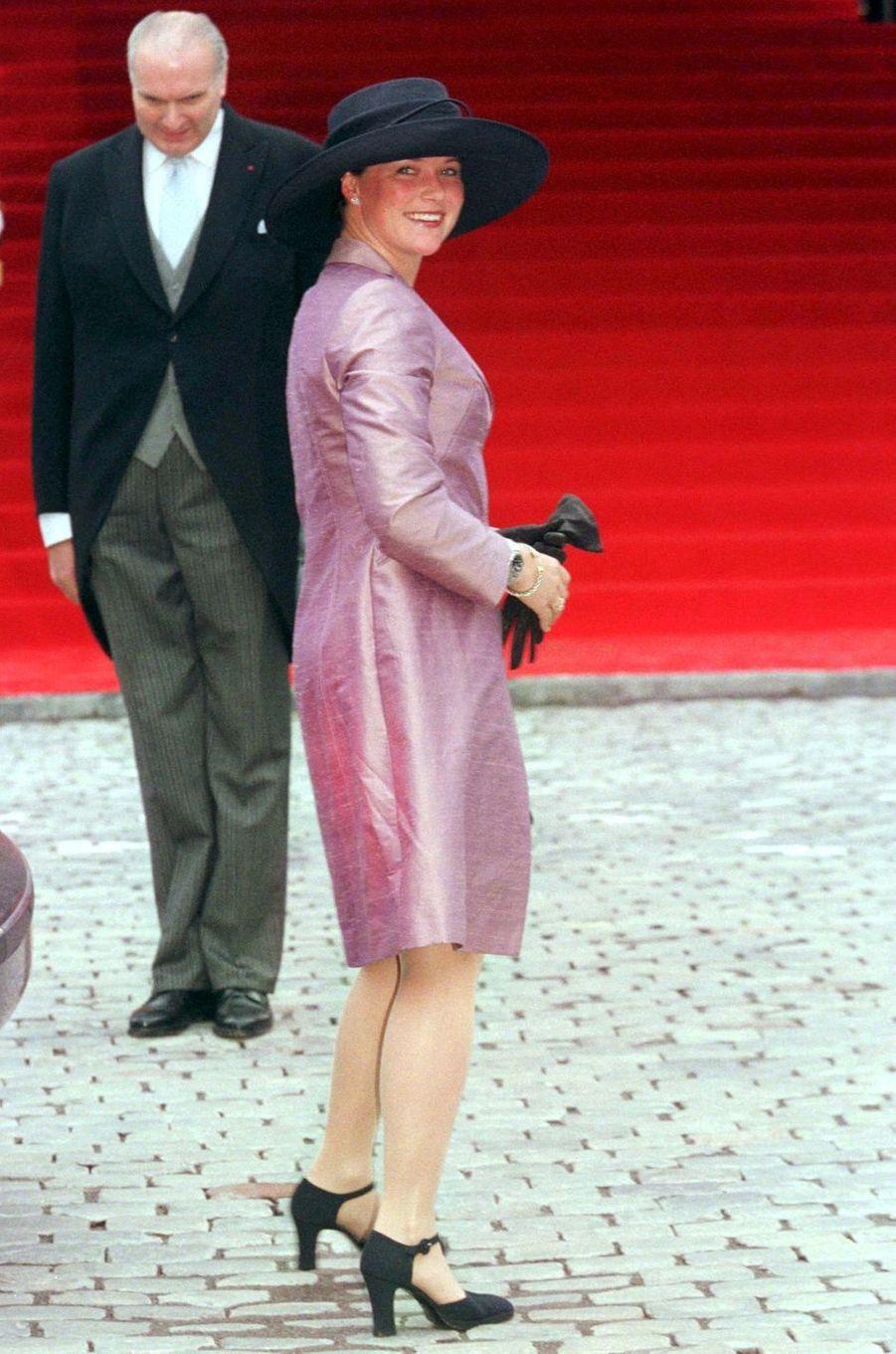 La princesse Märtha Louise de Norvège, à Bruxelles le 4 décembre 1999