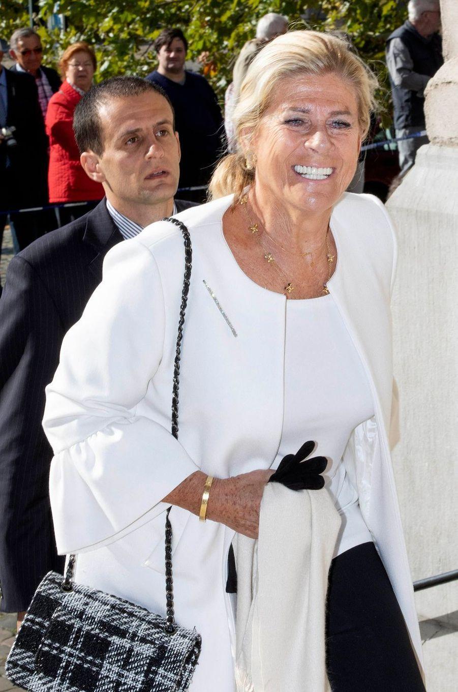La princesse Lea de Belgique à Laeken, le 8 septembre 2018