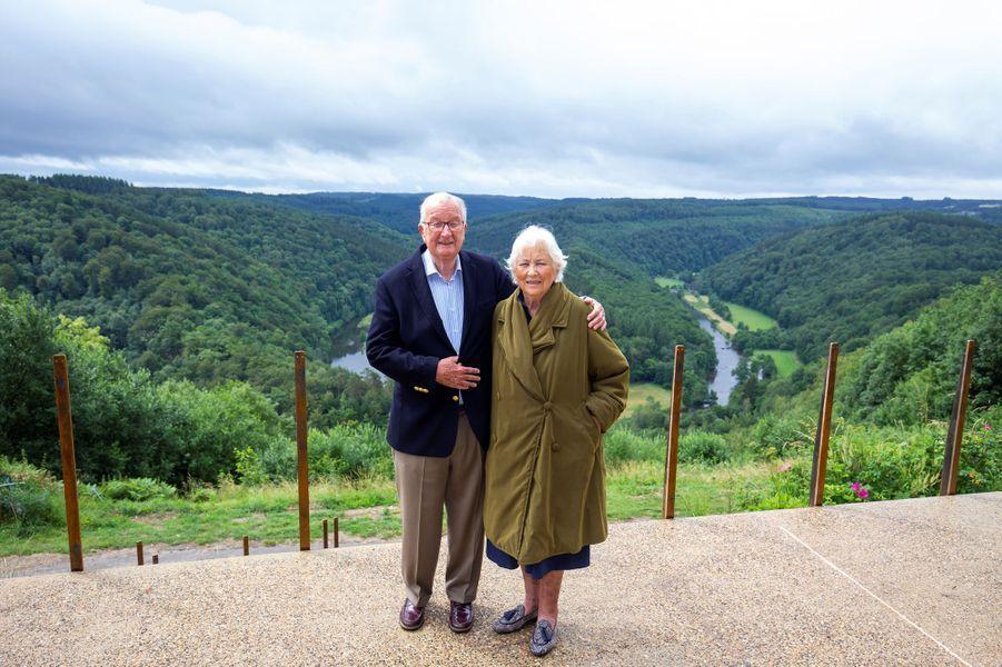 L'ex-reine Paola et l'ex-roi des Belges Albert II à Botassart, le 28 juin 2020